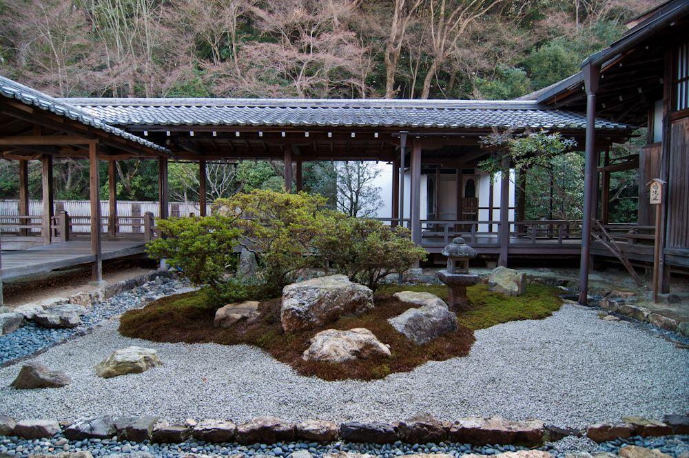 Kyoto japanese garden for