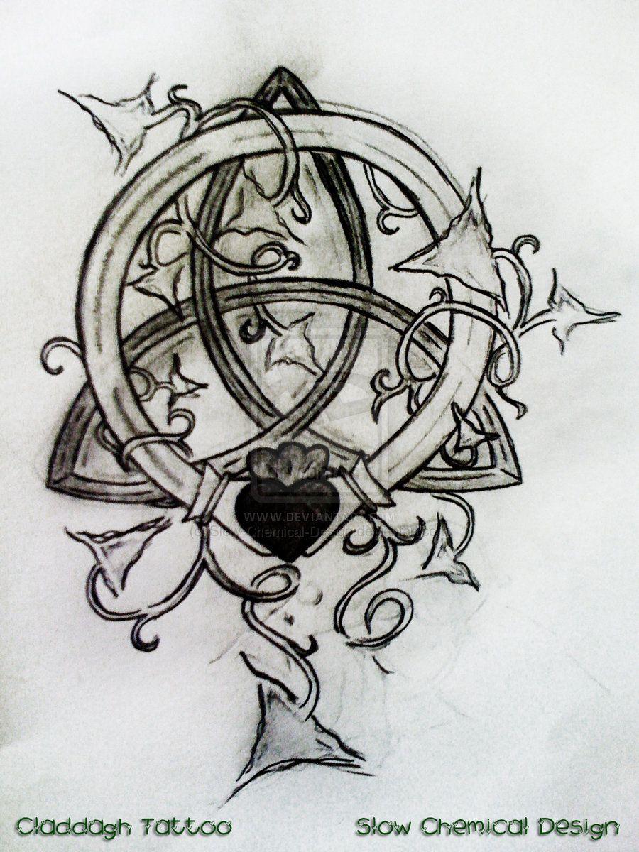 Claddagh Tattoos Designs And Ideas Page 4 Hobby Lobbywish List