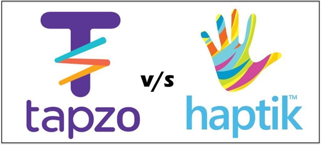 Social Media Competitor Analysis - Haptik and Tapzo (Helpchat)