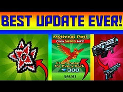 BEST UPDATE EVER !! (Robot Dog, Dragon, Free Phoenix