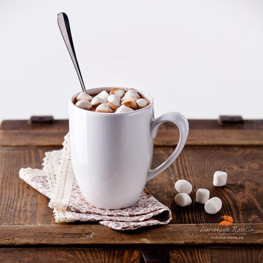 Фото кофе с маршмеллоу