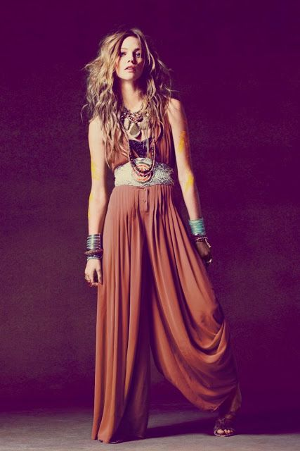 Bohemian style......is comfy....Yes?