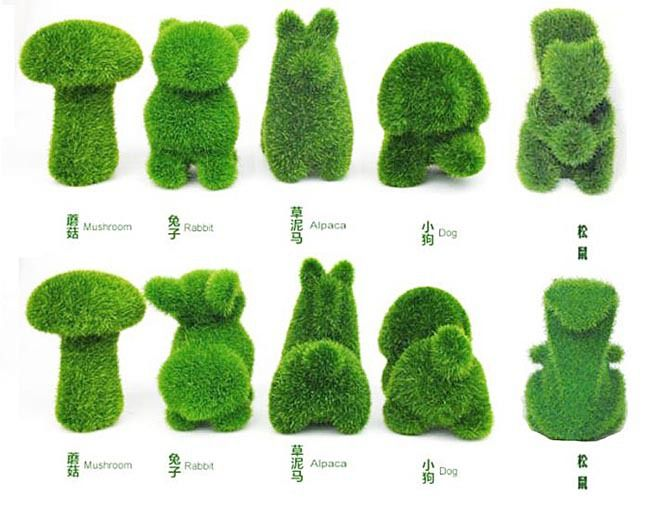 Lylgrassland knickknacks dog accessories most adorable for Artificial grass decoration crafts