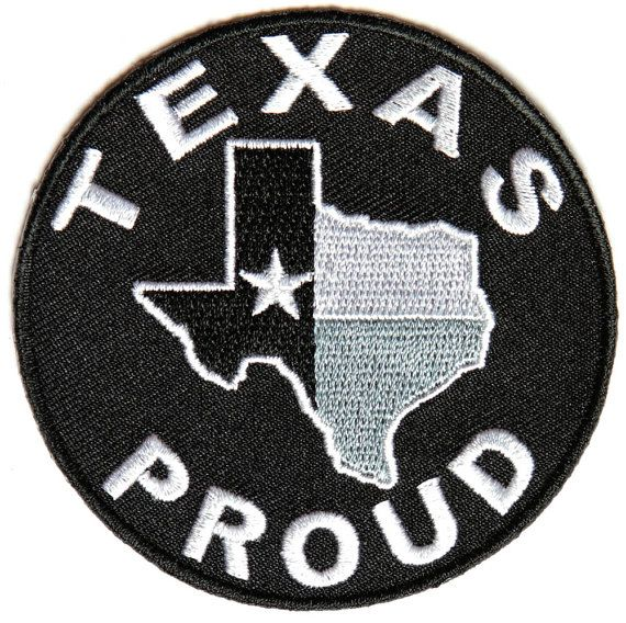 Texas Patch Lone Star State Iron on