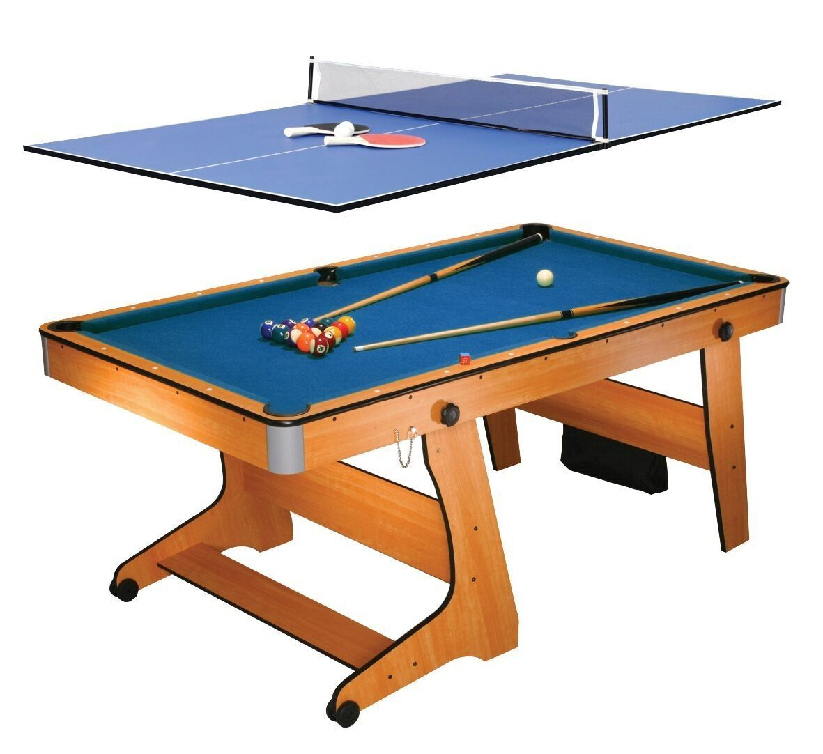 Fp6tt Folding Pool Table Tennis Table Folding Pool Tables Wotever In 2020 Folding Pool Table Pool Table Table Tennis