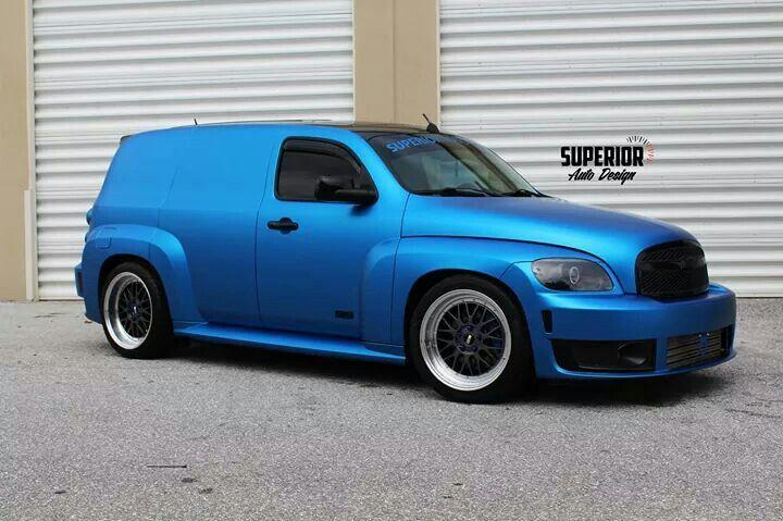 Blue Hhr Panel Chevy Hhr Chrysler Pt Cruiser Panel Truck