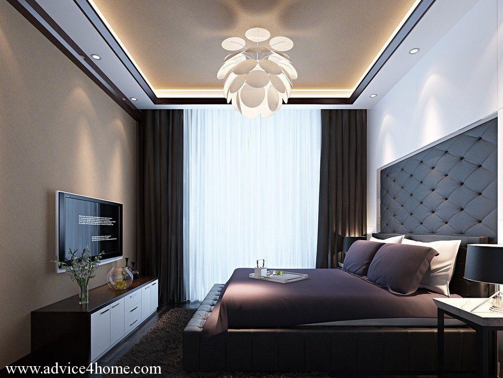 white-cream simple ciling design in badroom | Ceiling ...