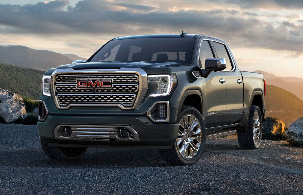 Gmc S 2019 Sierra Denali Is The First Truck To Feature A Carbon
