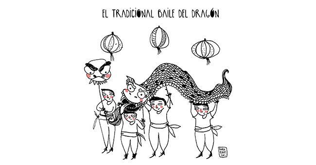 Resultat d\'imatges de dragon chino dibujo | angeles | Pinterest ...