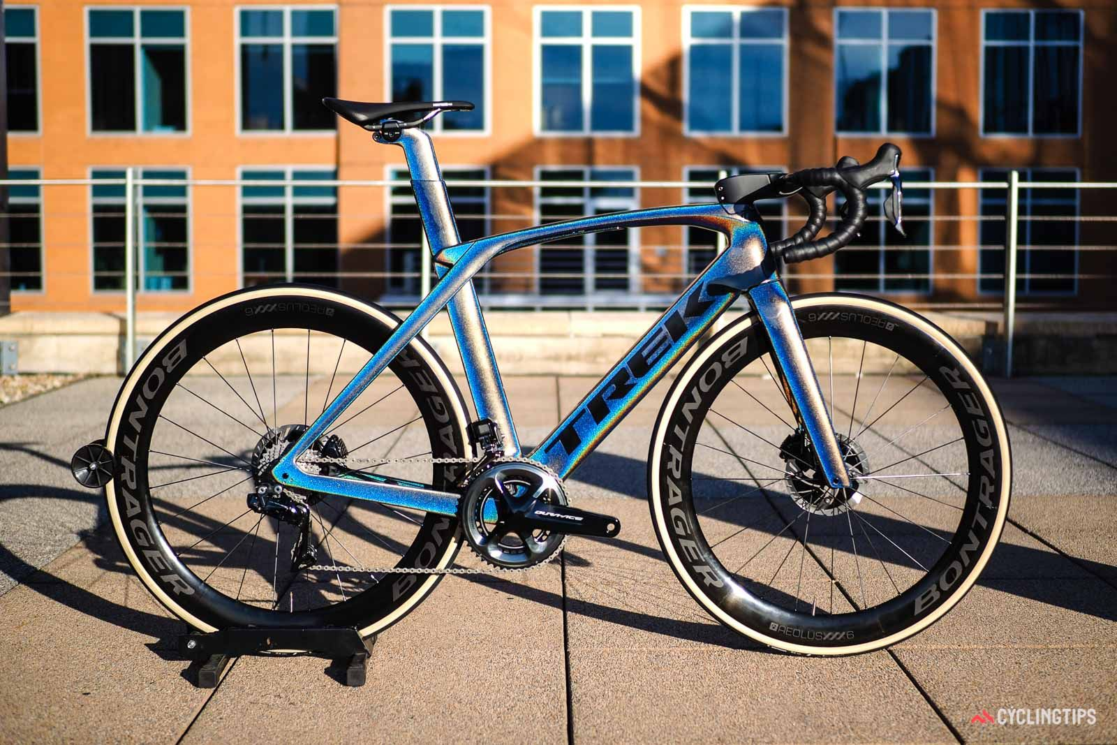 2019 Trek Madone Slr First Ride Review Upping The Ante Cyclingtips Bike Riding Benefits Trek Madone Trek Road Bikes
