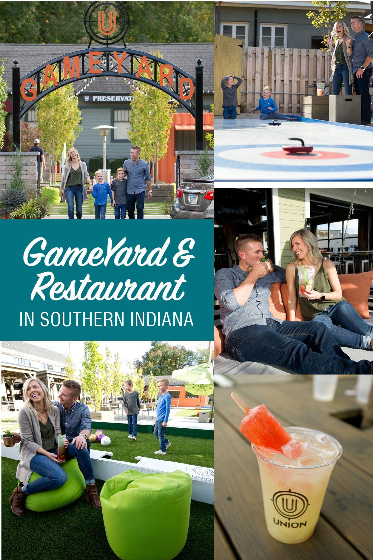 Union Restaurant Gameyard Jeffersonville Giant Beer Pong Indiana