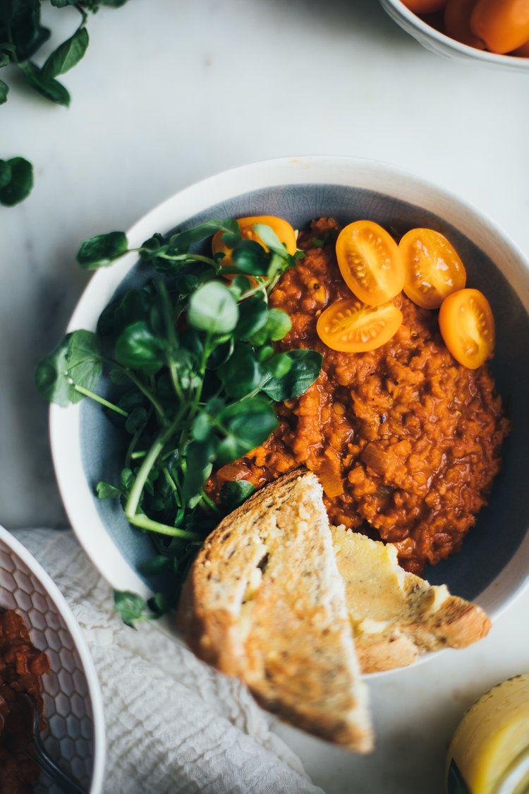 Ethiopian berbere red lentils aka mesir wot gluten free