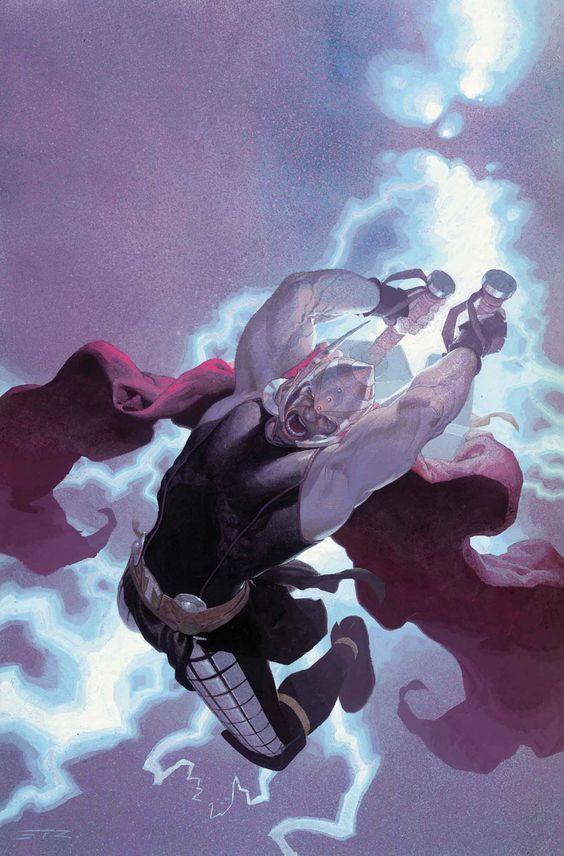 THOR: GOD OF THUNDER #11 JASON AARON (W) • ESAD RIBIC (A) Cover by ESAD RIBIC: