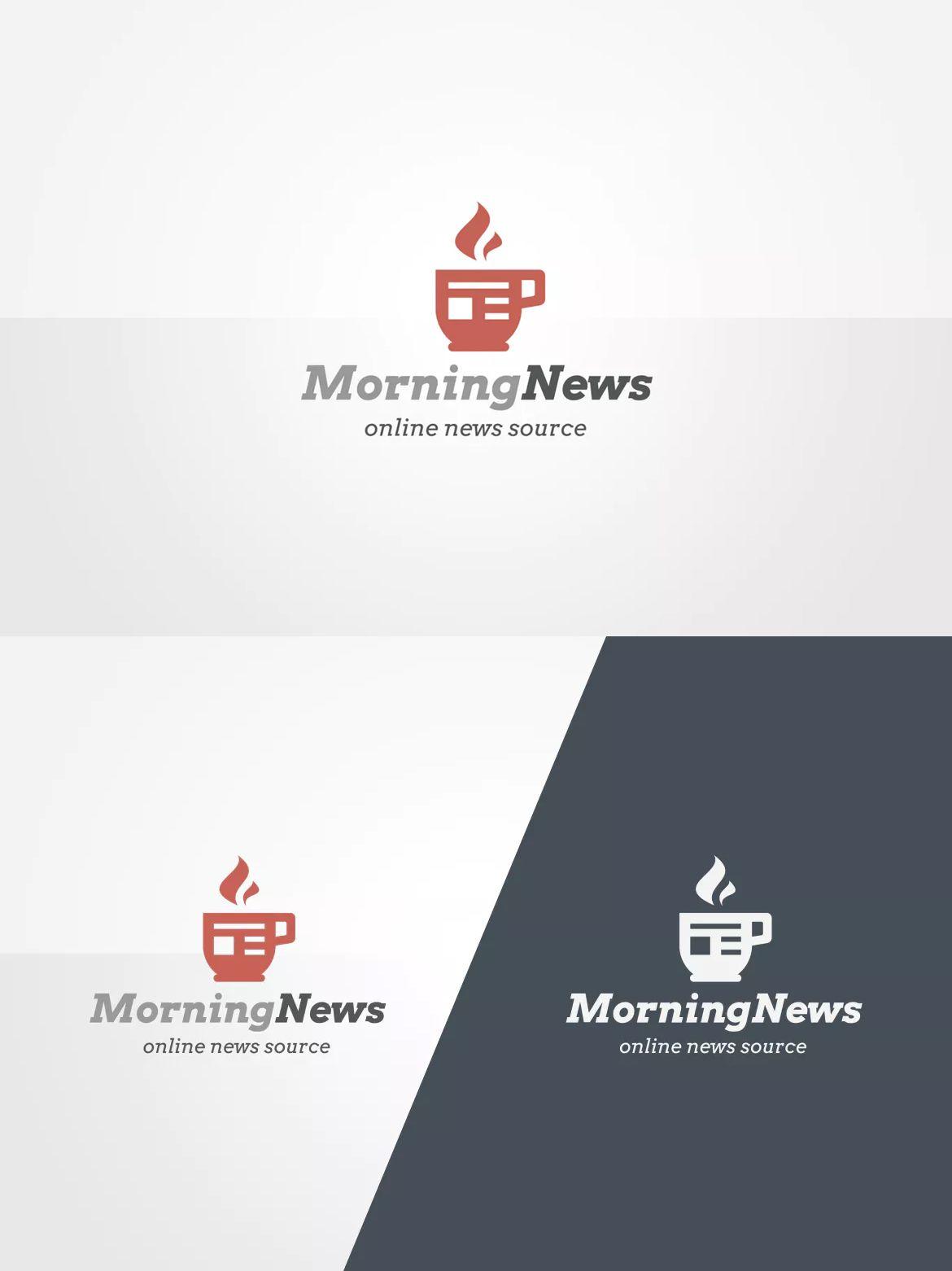 News logo template eps psd logo templates pinterest logo news logo template eps psd maxwellsz