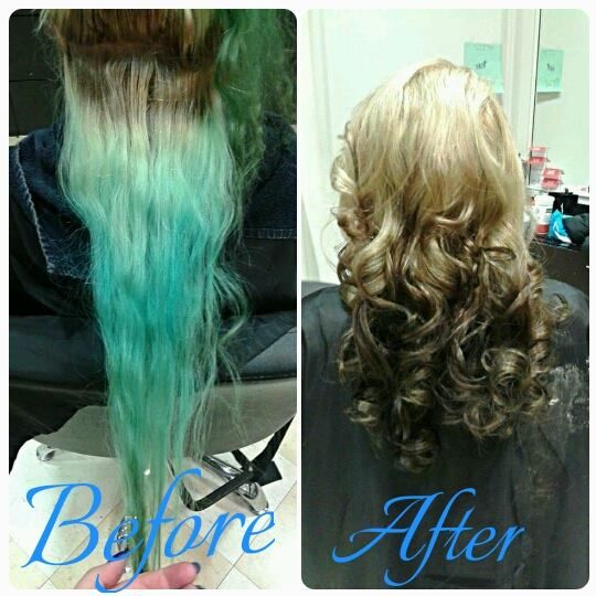 Before And After Of Amazing Hair Color Transformation At Supercuts In Erie Pa Hair Color Images Hair Color Reviews Hair Dye Colors