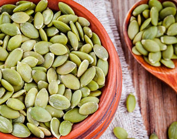 Pumpkin seeds Pumpkin seeds benefits, Zinc rich foods