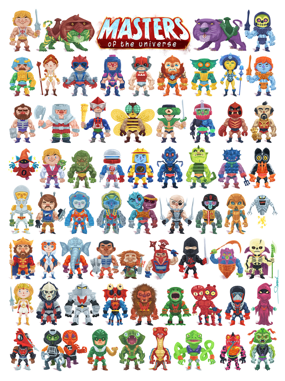 Heman Mastersoftheuniverse Projects Photos Videos Logos Illustrations And Branding On Behance Masters Of The Universe Project Photo Artwork