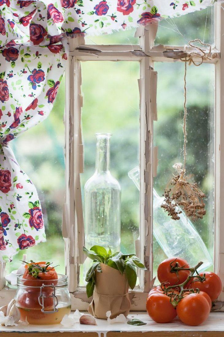 Деревенское окно картинки