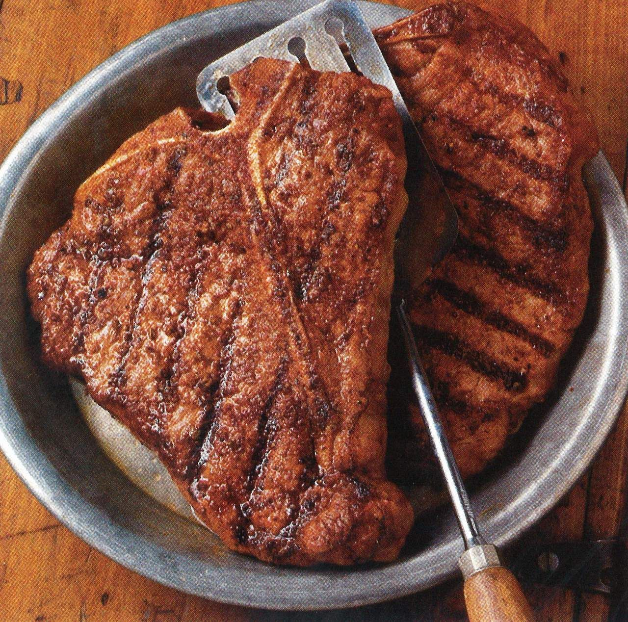 The best way to cook a t bone steak is by grilling it ...