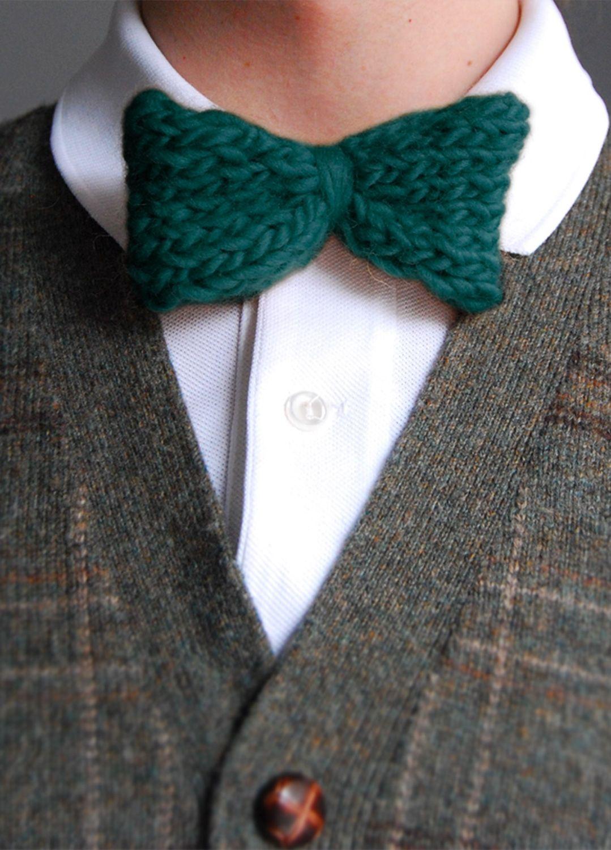 Bowtie   Knitting, Knitting club, Cool patterns