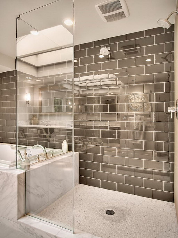 120 Stunning Bathroom Tile Shower Ideas (90) Bathroom