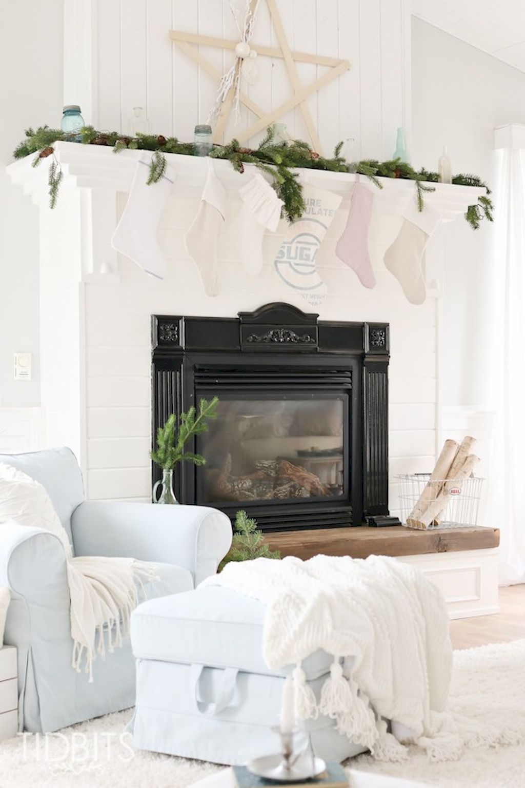 cozy vintage christmas living room decoration ideas christmas
