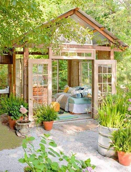 13 Backyard Shed Ideas With Images Outdoor Garden Rooms