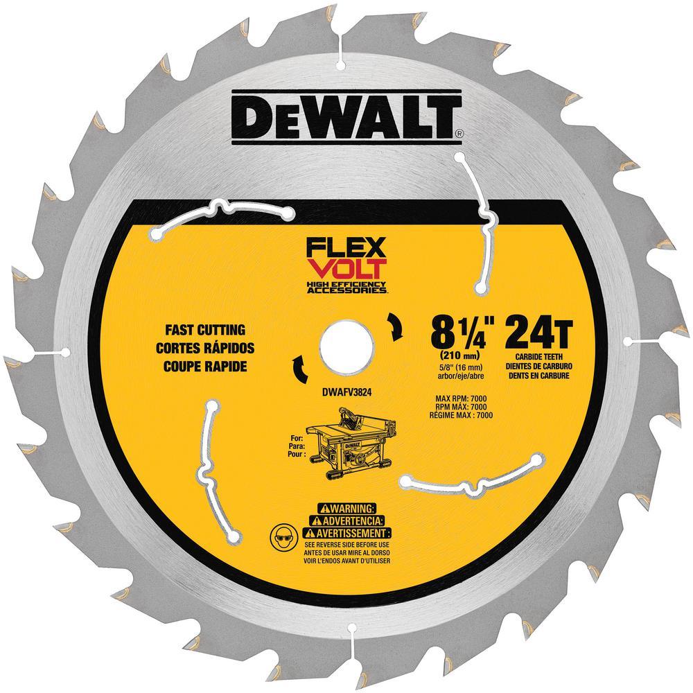 "3 Pk Milwaukee 8-1//4/"" Best High-Performance 24-Tooth Framing Circular Saw Blade"