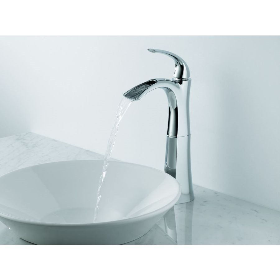Shop Delta Faucet Delta 17708LF Nyla Open Channel Single Handle ...