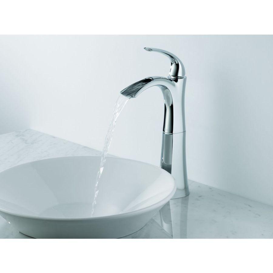 Shop Delta Faucet Delta 17708LF Nyla Open Channel Single Handle ...