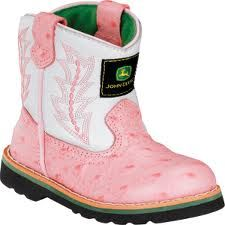 ff8e28659a5 Pink John Deere baby boots, need these for my daughter!! | Country ...