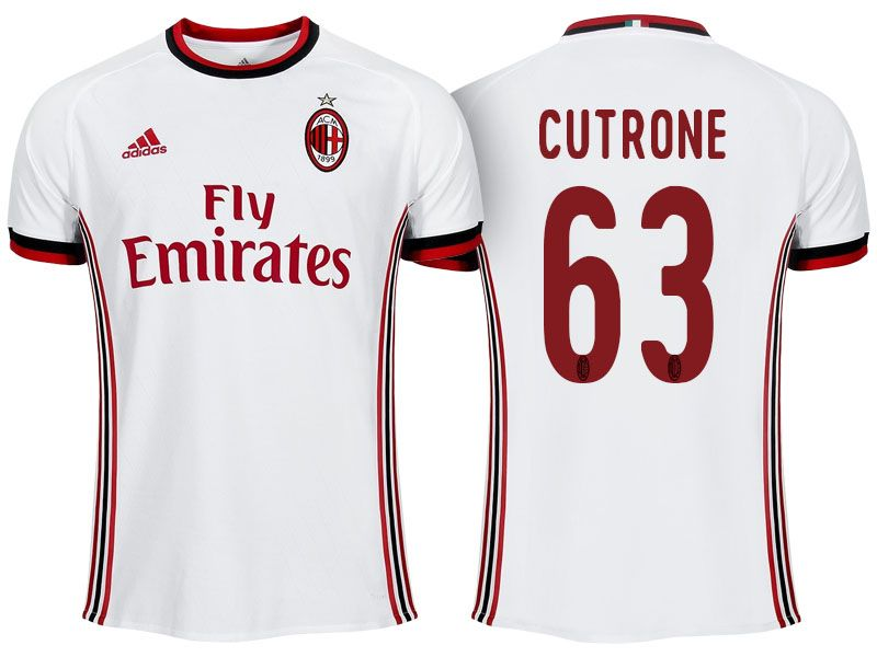 Maillot Domicile AC Milan PATRICK CUTRONE