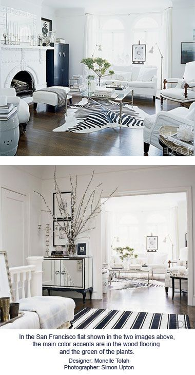 Most Rooms Using An Achromatic Scheme Will Have At Least A Bit Of Accent Color