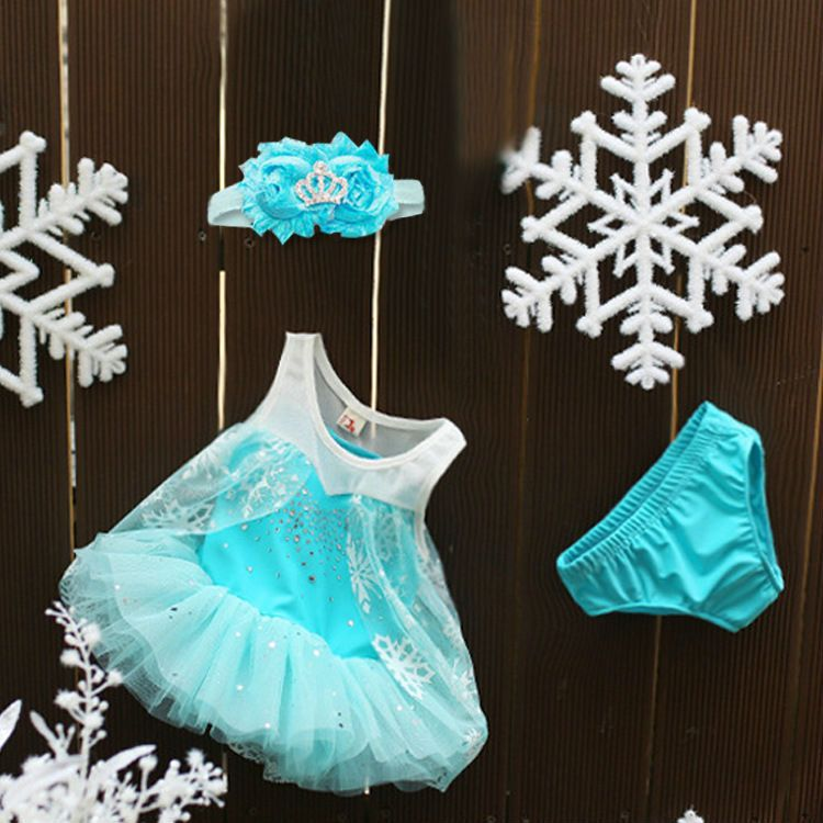 Baby Princess Party Costumes Disny Froz Little Elsa