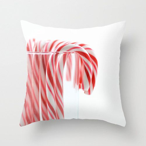 Decorative Christmas Pillows Canday Cane By