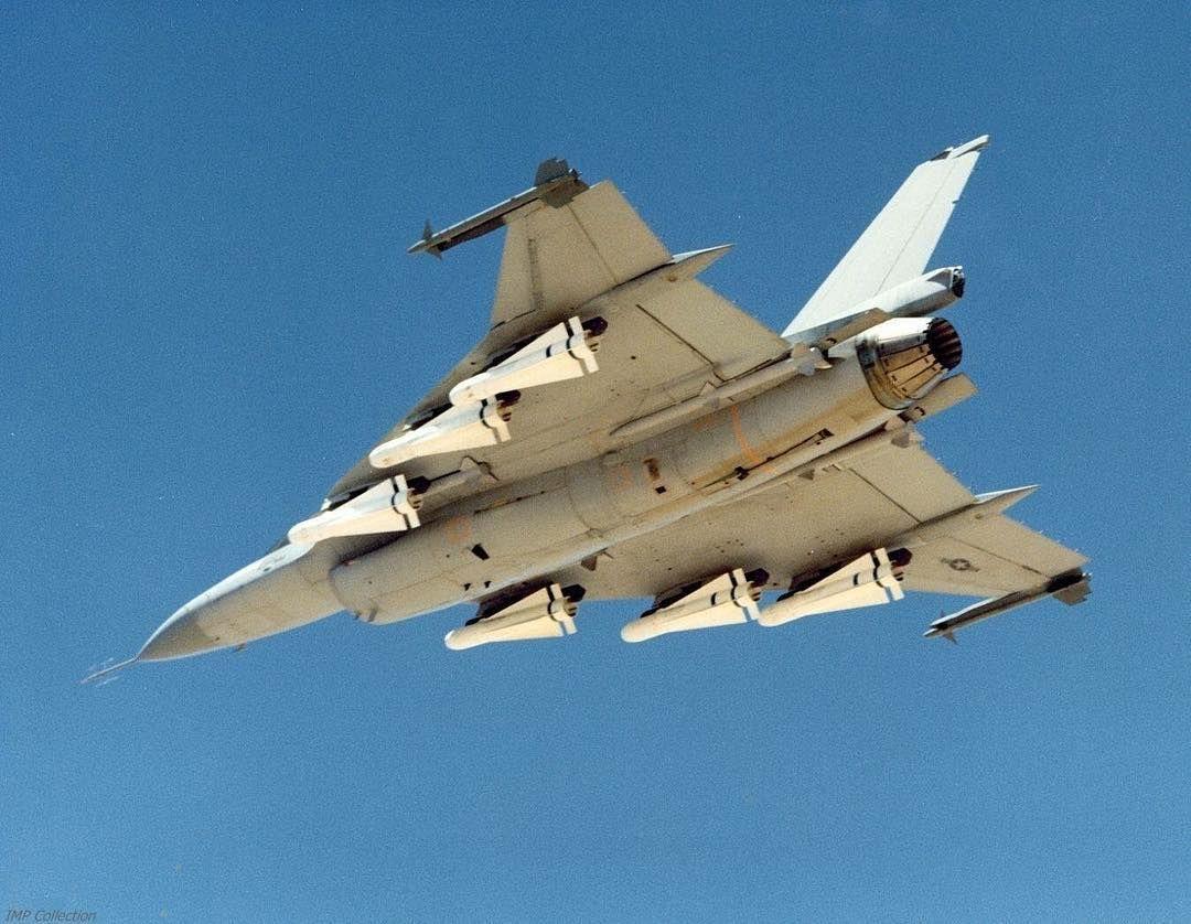 Experimental F16 XL with AGM-65 Maverick.