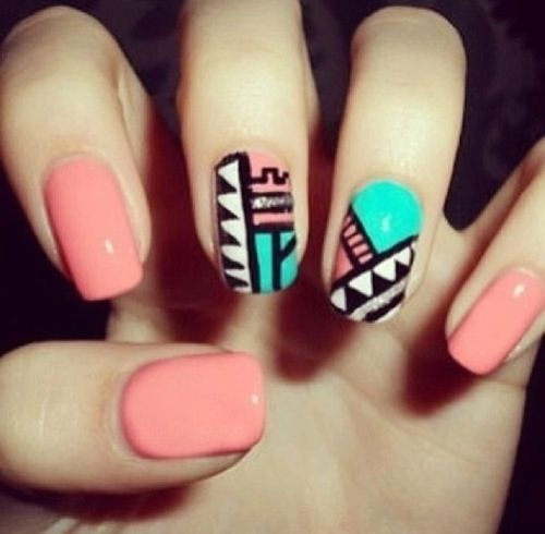 Uas follow me in my twitter nayviess garcia d nails tribal nail design fashion girly cute photography nails girl nail polish nail pretty girls photo style french tribal pretty nails nail art french tips prinsesfo Gallery