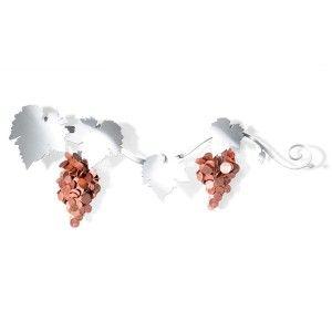 """Einfach grandios: Der Münzhalter """"Weinrebe"""" ist so genial konzipiert wie hervorragend umgesetzt! An das edle, magnetische Wohnobjekt können Cents und andere Münzen gehängt werden, sodass spektakuläre Weintrauben entstehen. Ein toller Blickfang und eine Geschenkidee, die wir Ihnen hiermit wärmstens ans Herz legen möchten!"""