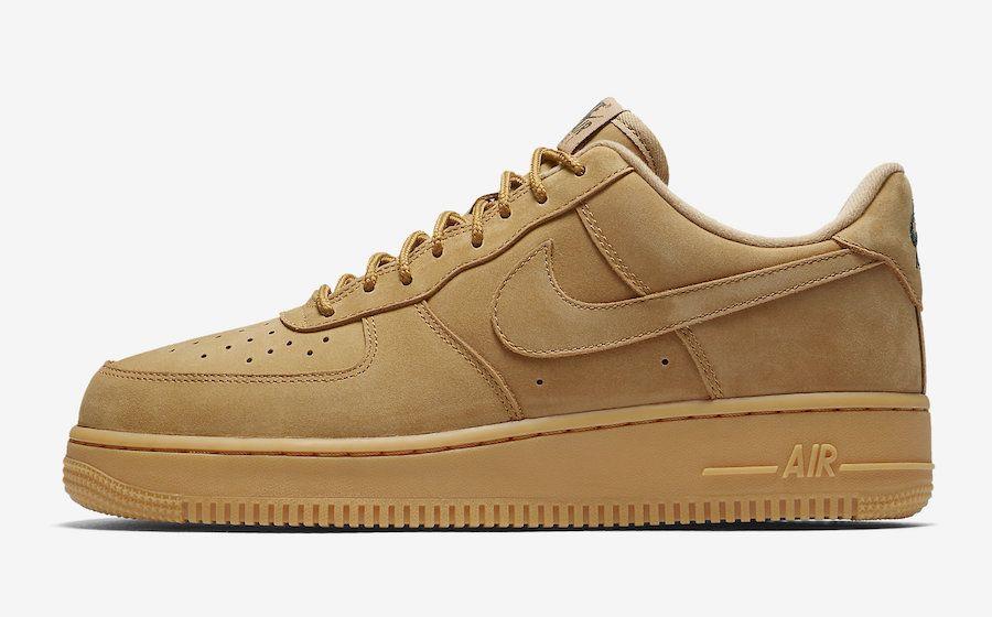 Penetración Tiza cebolla  Nike Air Force 1 Low Flax Wheat AA4061-200 - Sneaker Bar Detroit   Nike air  force brown, Nike air force men, Nike air force