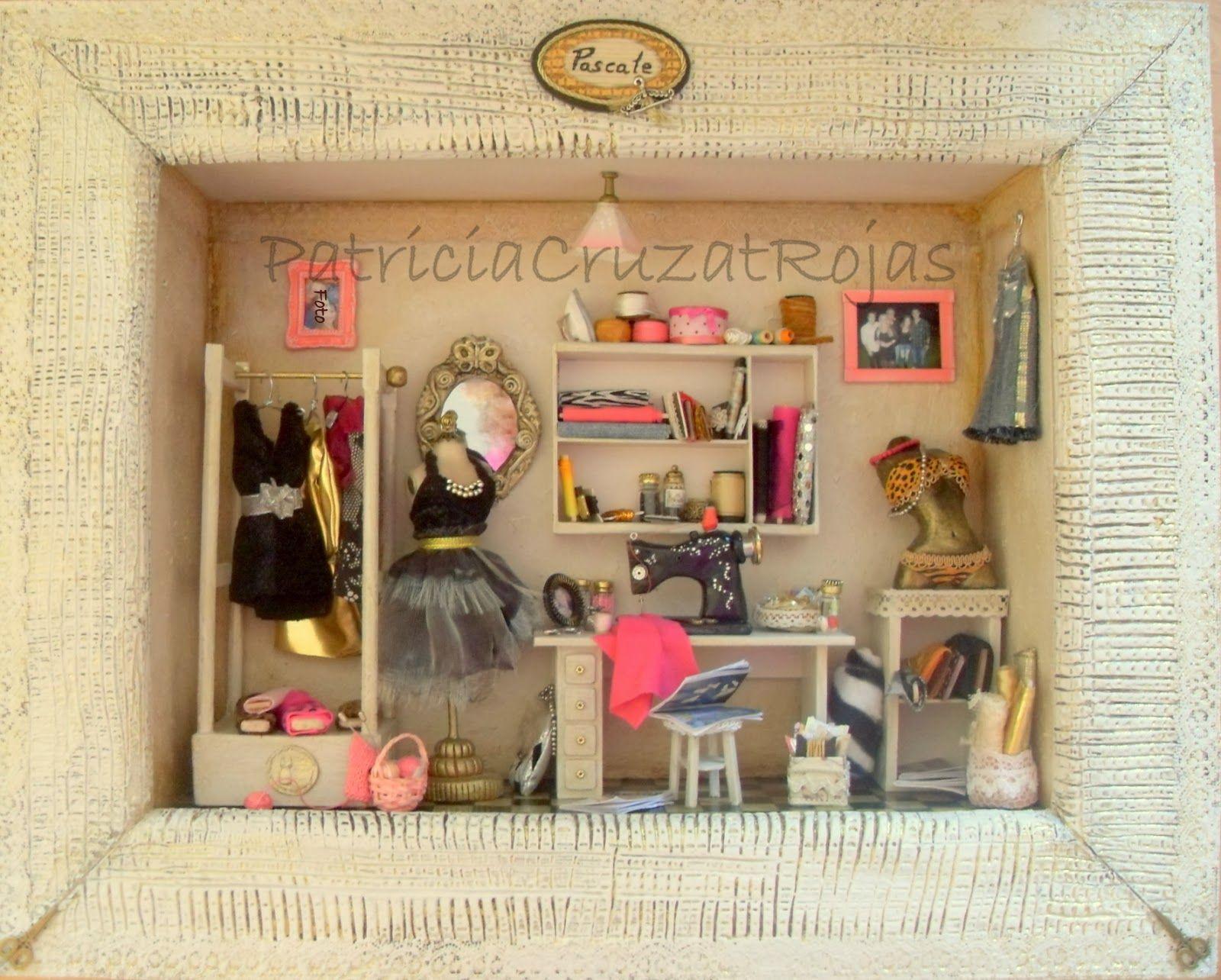 Patricia cruzat artesania y color cuarto de costura for Muebles de costura