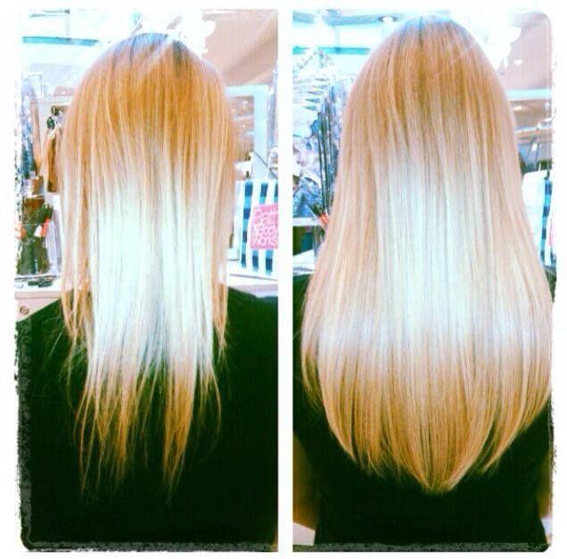 16 inch Platinum Violet Blonde HALOCOUTURE www.halocouture ...