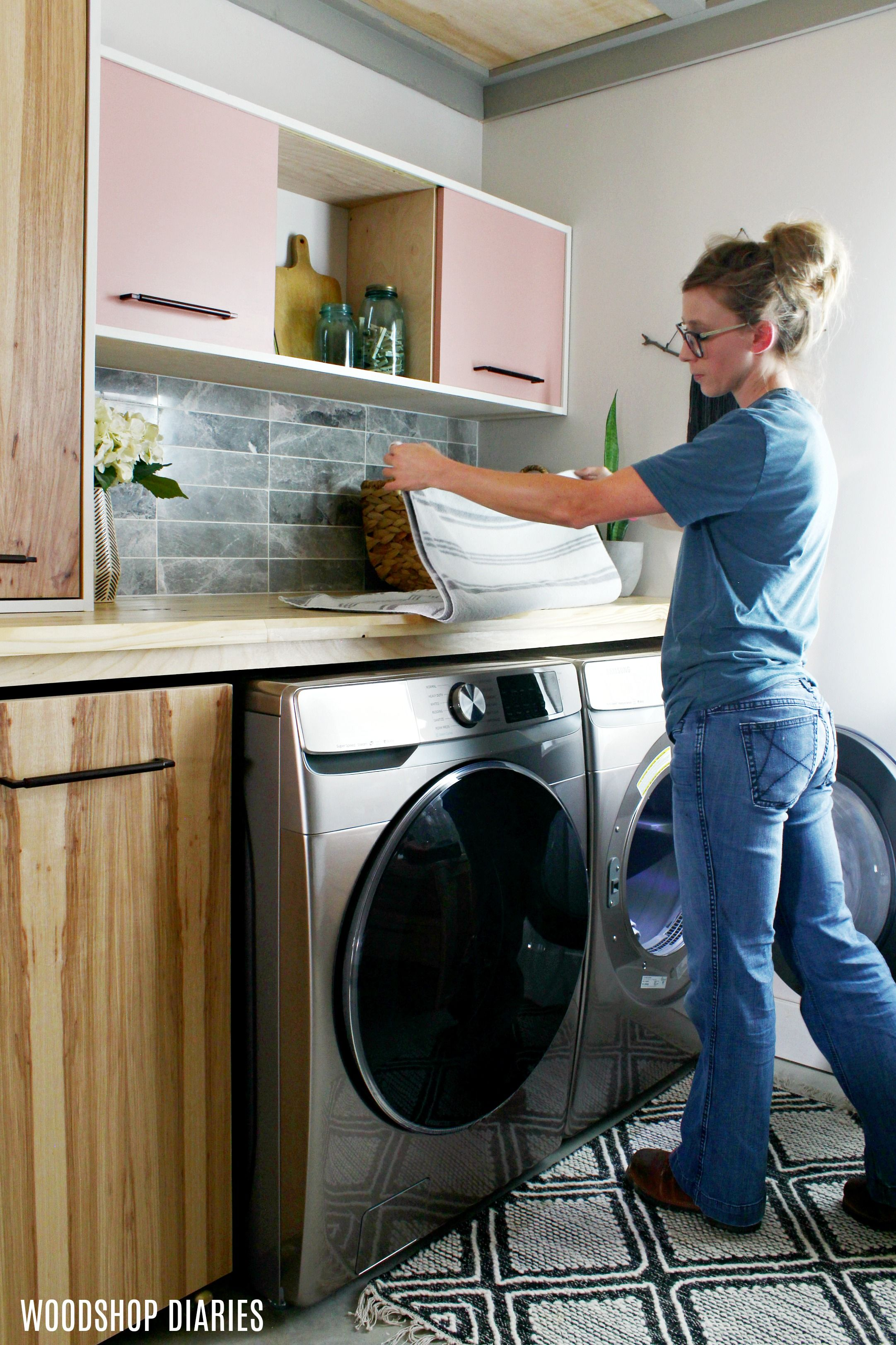 Small Laundry Room Storage Solutions Making The Most Of Small