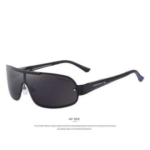 4bc57e12ea3 MERRY S 2016 Classic Polarized Sunglasses Men Brand Designer HD Goggle Men s  Integrated Eyewear Sun glasses UV400 S 8616