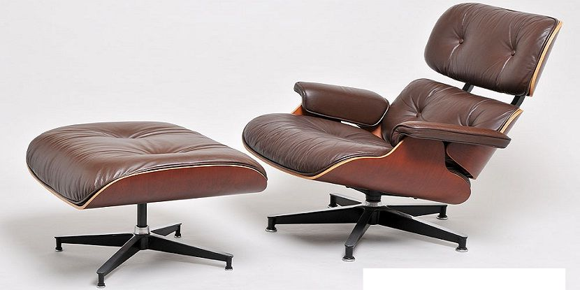 Eames Lounge Chair Dark Brown