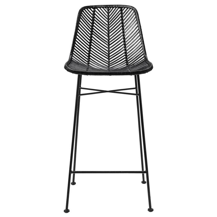 Like Different Textures Tabouret De Bar Tabouret De Bar Noir Chaise Bar