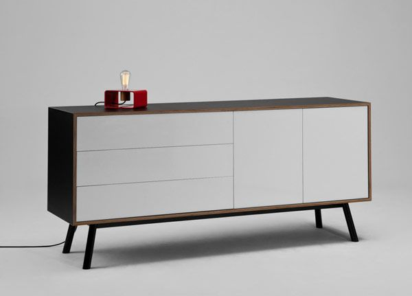Steel Plywood And Laminate By Tim Webber Mobilier Meuble Commode