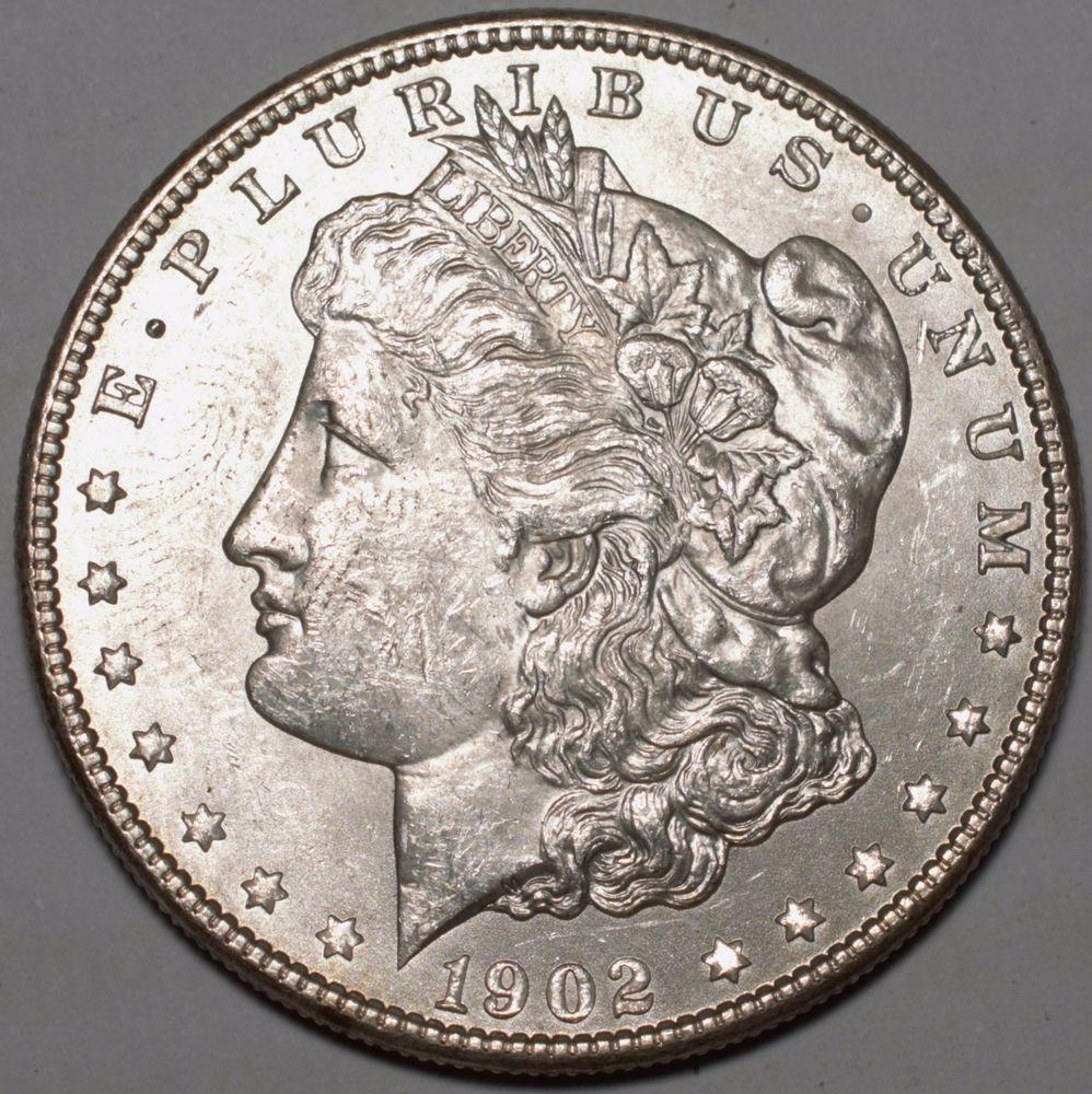 1902 O 1 Morgan Silver Dollar Ms Brilliant Uncirculated Free