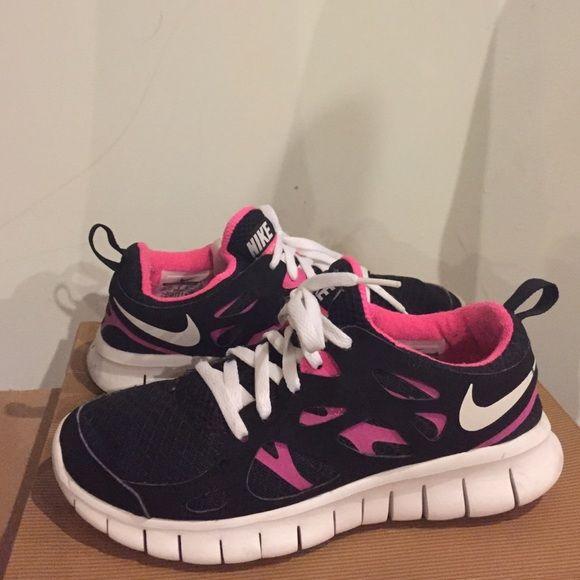 Nike Free Run 2 Taille Des Jeunes 5