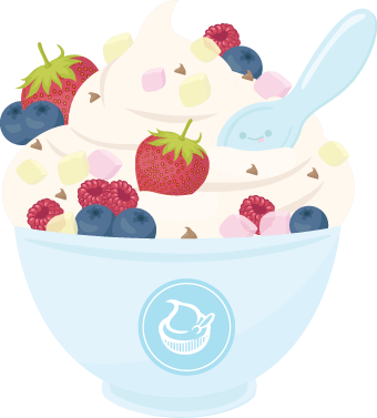 Frozen Yogurt Month Frozen Yogurt American Food Soft Serve Ice Cream