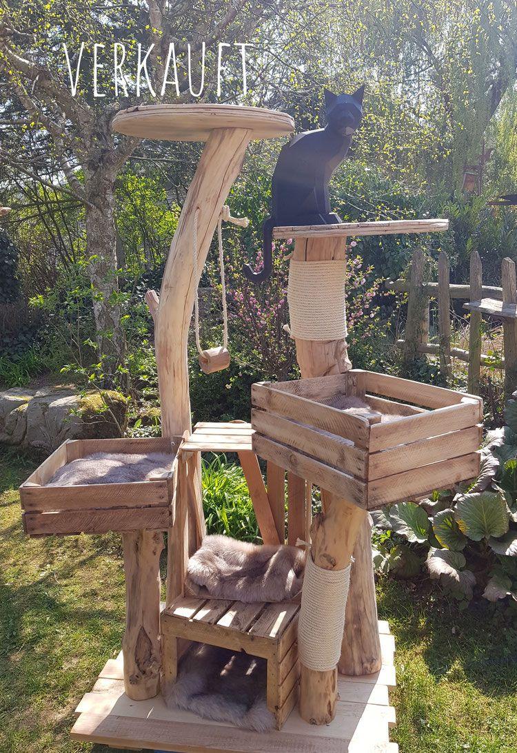 Photo of otros árboles vendidos – árboles de madera natural para gatos